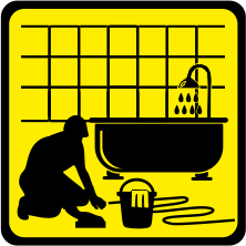 7108 ванна кімната прибирання після ремонту