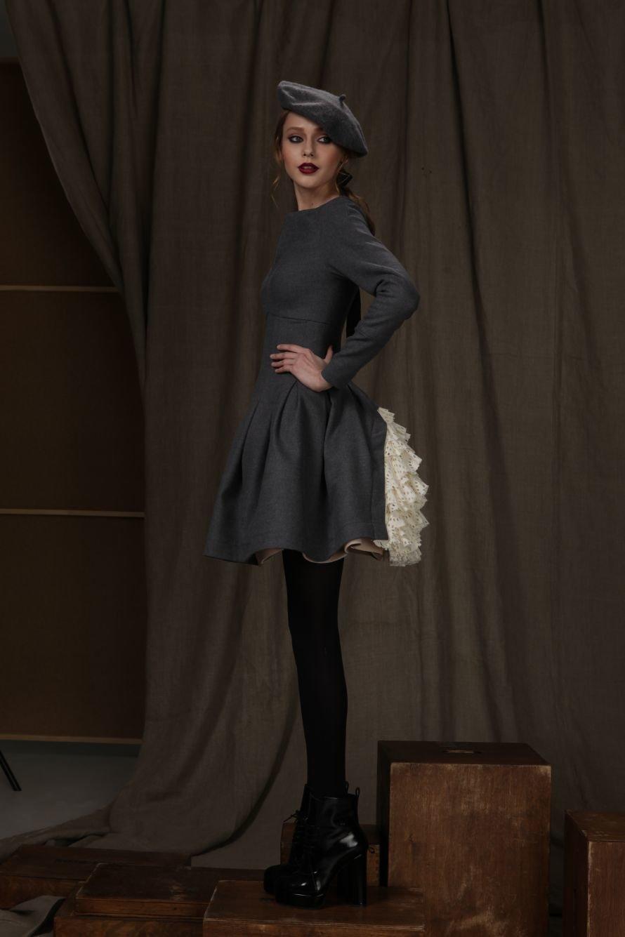 платье-100%шерсть,100% хлопок