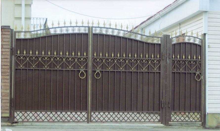 Металлические ворота в Кременчуге, Бетон Элит в Кременчуге
