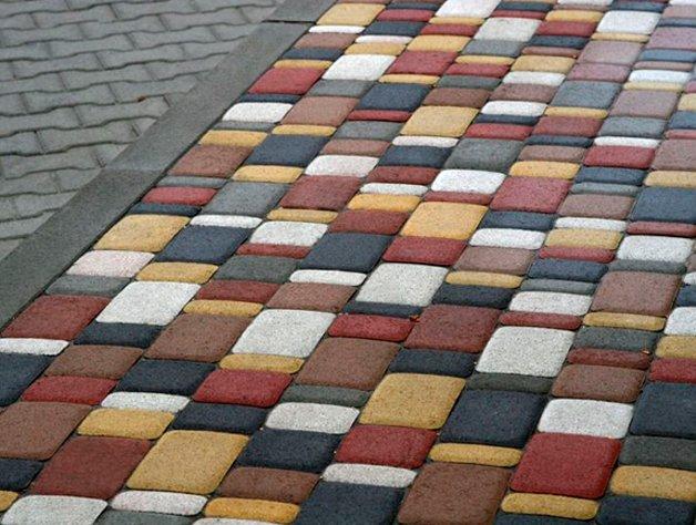 тротуарная плитка кременчуг