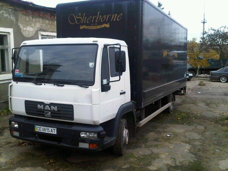 Ман, грузовое такси Марио в Кременчуге