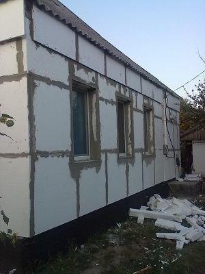 утепление домов в Кременчуге, хеопс-уют