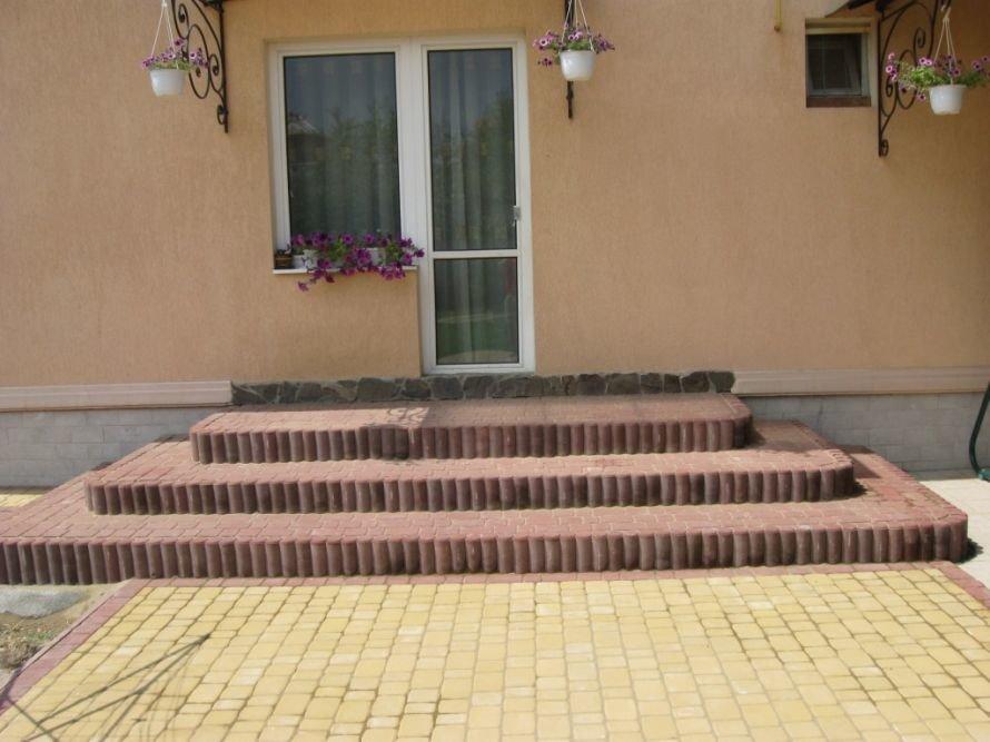 Старе місто+Палісада старе місто пресована плитка от производителя Фортеця в Кременчуге