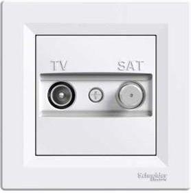 p-schneider-asfora-tv-sat-sonlu-1db-beyaz