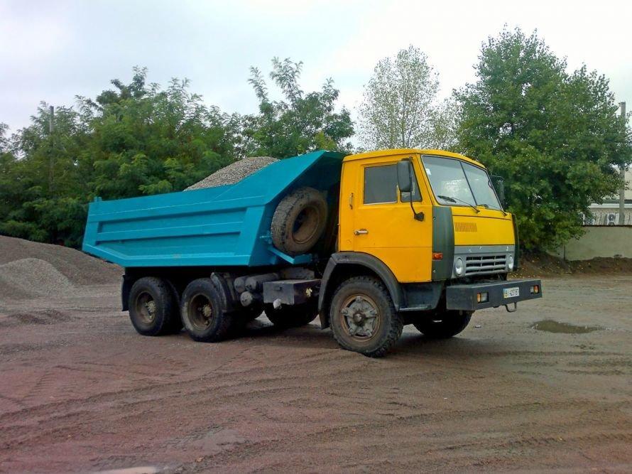КАМАЗ самосвал, грузовичок, доставка стройматериалов в Кременчуге