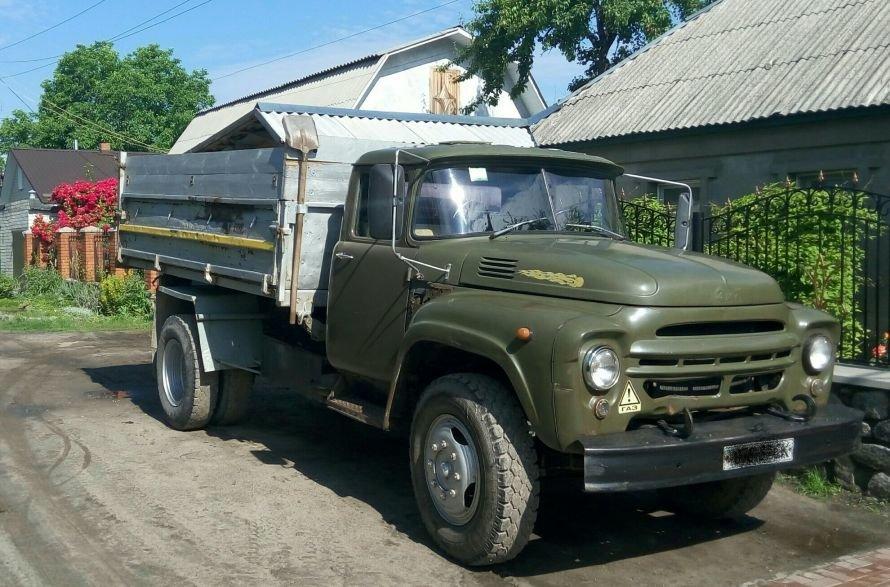 ЗИЛ самосвал, грузовичок, доставка стройматериалов в Кременчуге