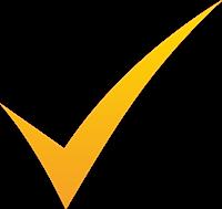 желтая галочка
