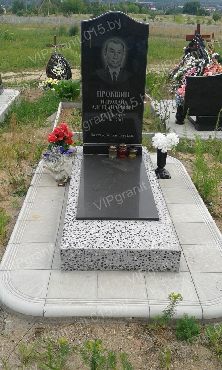 Образцы типовых памятников в Гродно на кладбище