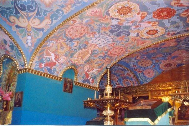 росписи в пещерном храме Феодоровского Государева собора