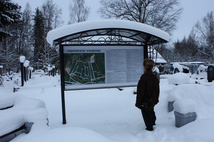 Кладбище в Павловске 17