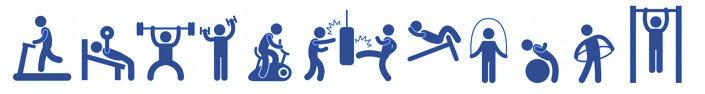 фитнес иконки