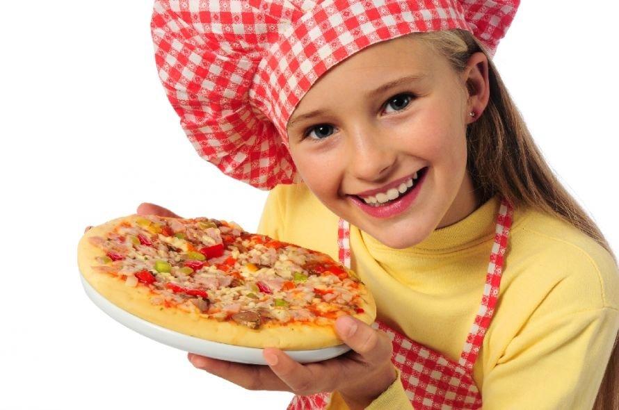 пицца детям