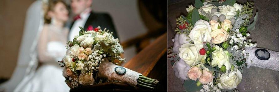 свадьба букет невесты