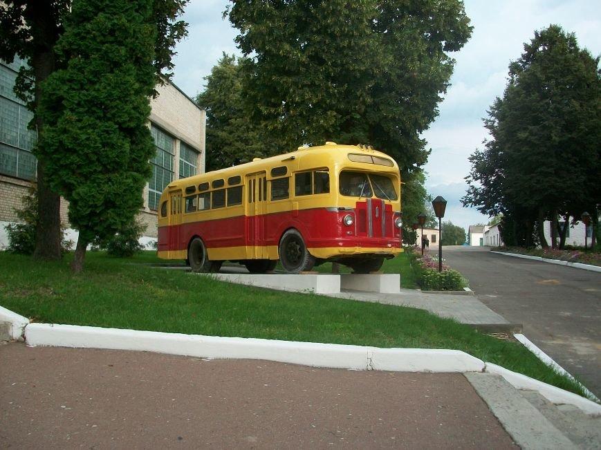 Автобус_ЗИС_в_Глухове