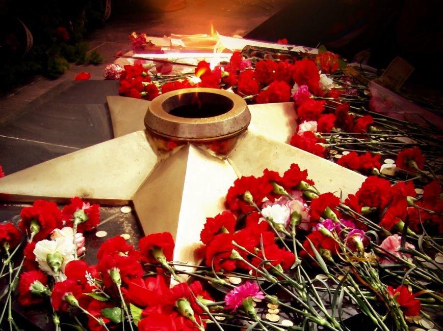 9мая, день победы, звезда, цветы, вечный огонь, 1920x1440