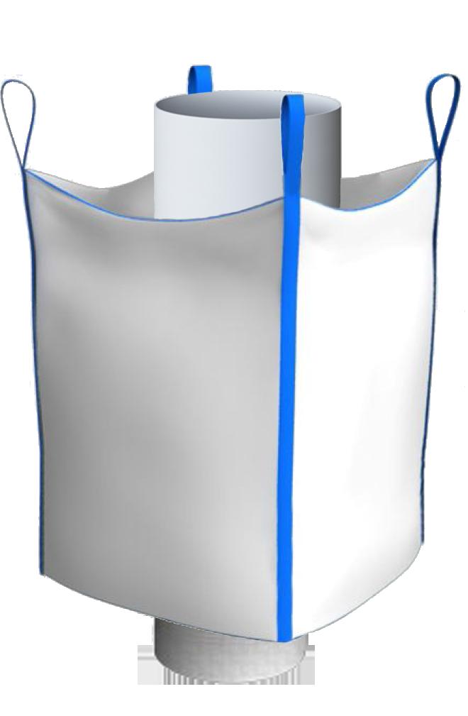 Биг-Бэг четырехстропный верхний люк нижний люк