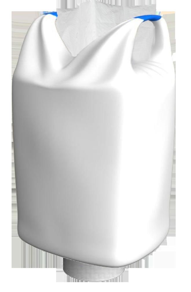 Биг-Бэг двухстропный с верхней крышкой и нижним люком