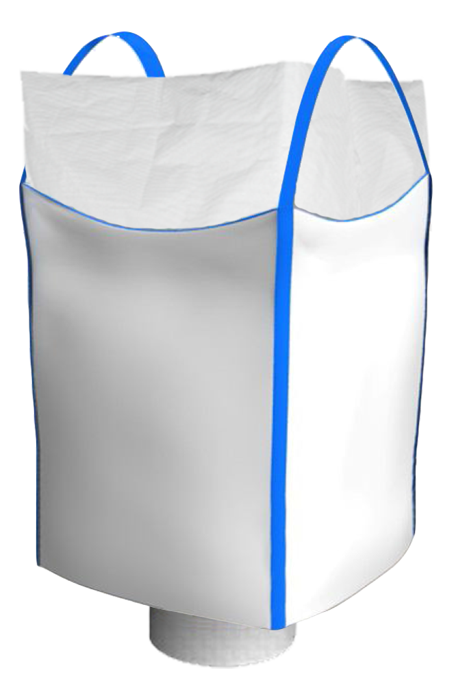 Биг-Бэг двухстропный ленточный верхняя сборка (фартук) нижний люк