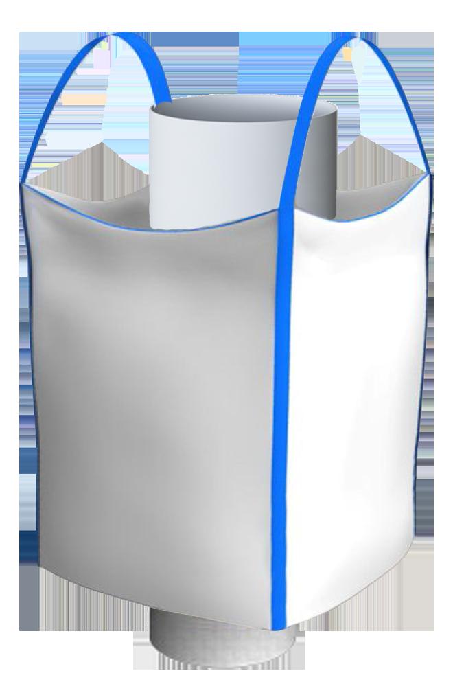 Биг-Бэг двухстропный ленточный верхний люк нижний люк