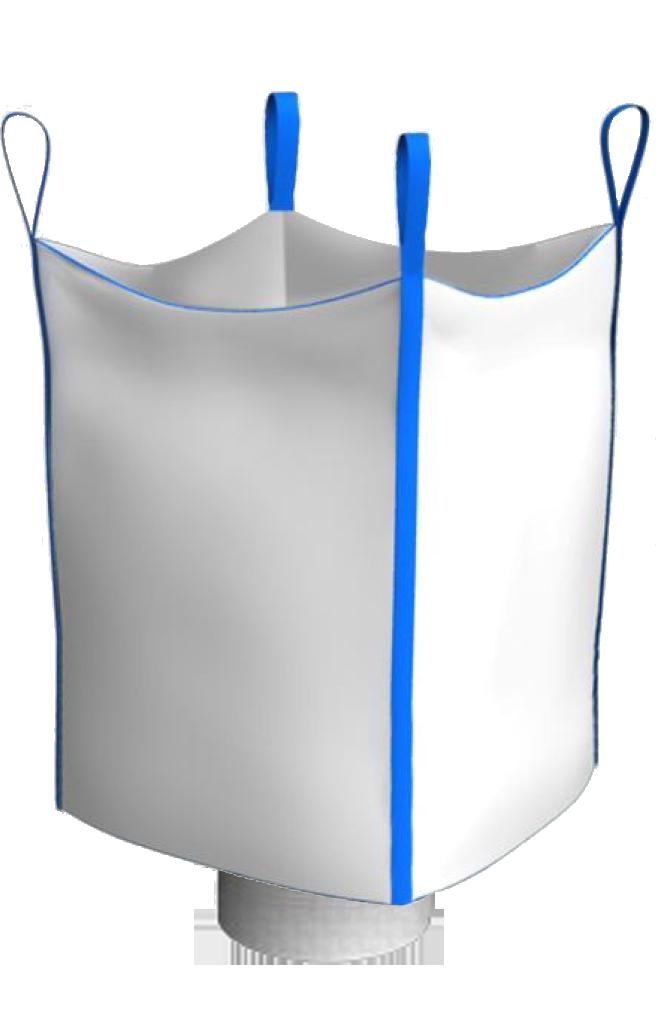 Биг-Бэг четырехстропный открытый верх нижний люк