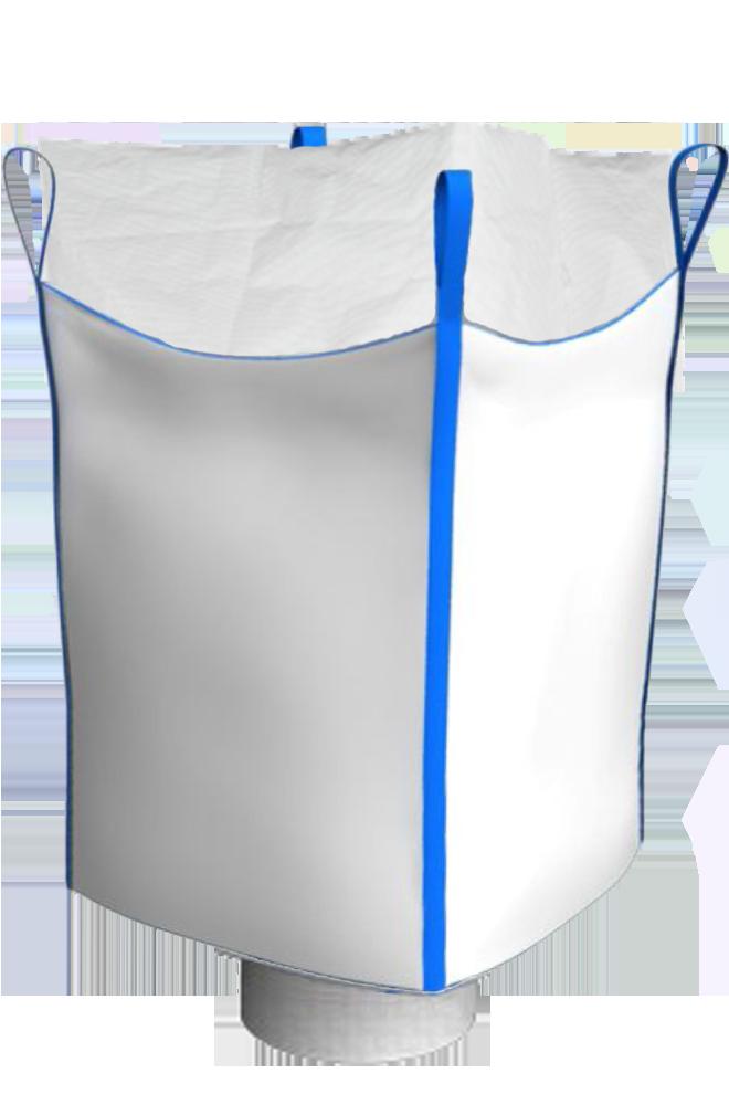 Биг-Бэг четырехстропный верхняя сборка нижний люк