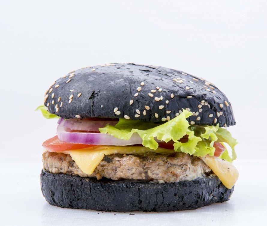 bbq - бургер свиной  300г  (2)
