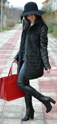 пальто сумка шапка