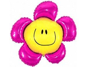 Цветок Шар Фольгированный 75грн